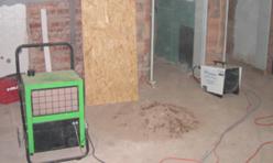 Bautrocknung und Bauheizung
