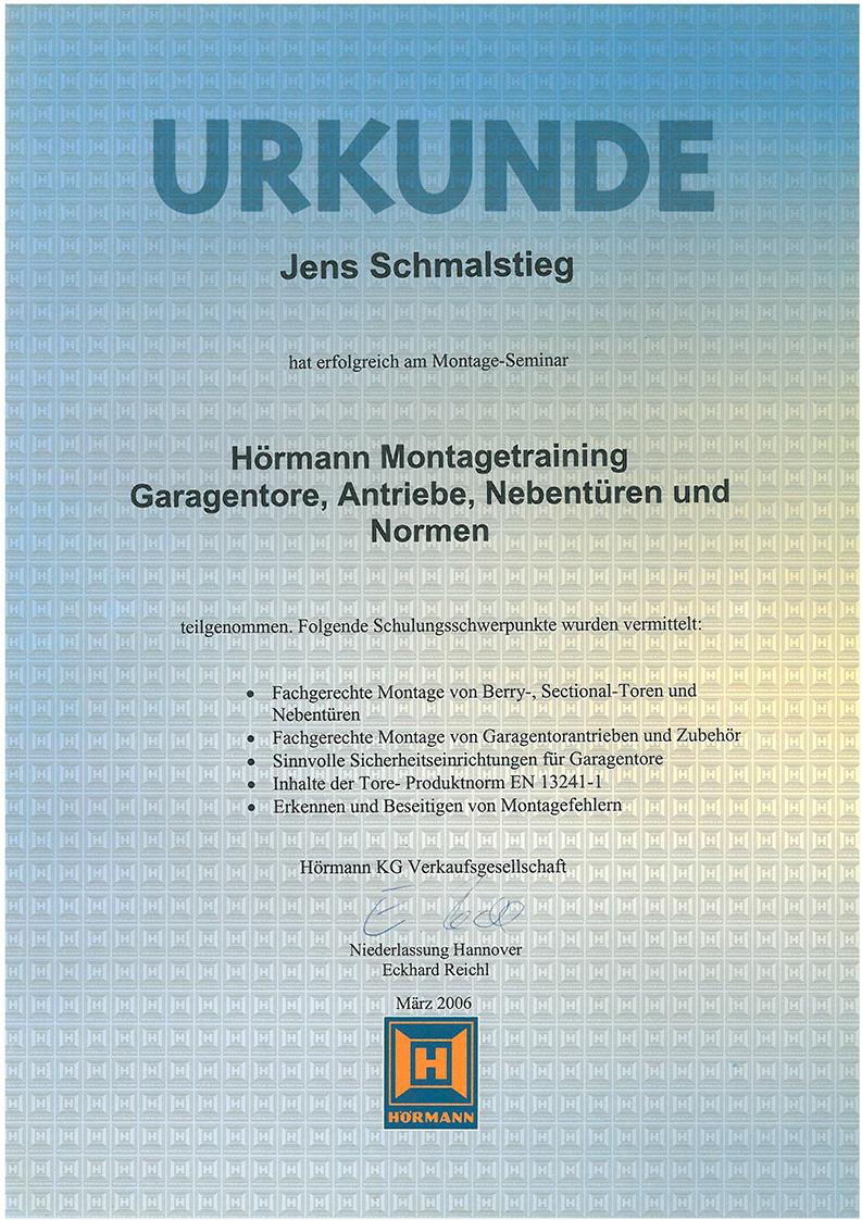 Hörmann Hannover hörmann montagetraining k h innenausbau gmbh