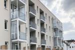 Wohnbebauung von 60 Wohneinheiten
