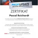 Knauf Brandschutz Profiupdate Zertifikat