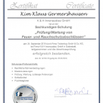 TTZ Zertifikat Kim Germershausen
