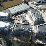 Ansicht von oben Mehrfamilienhäuser Bovenden
